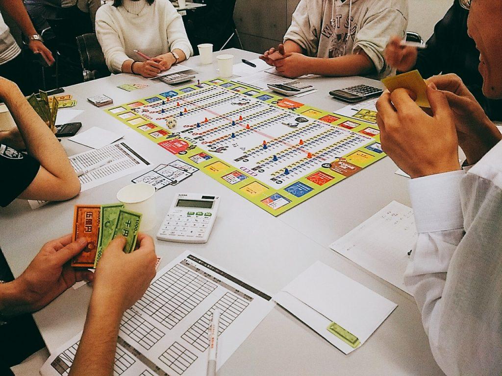 株式投資体験ゲーム会
